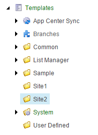 template-folders