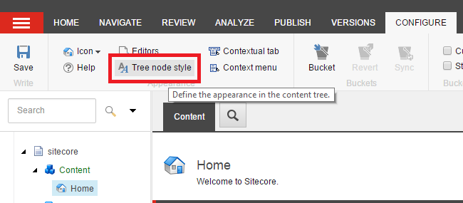 Styling the Sitecore Content Tree with CSS – CitizenSitecore