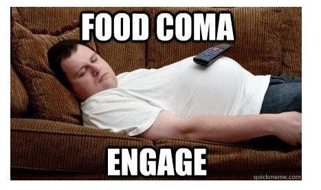 food-coma