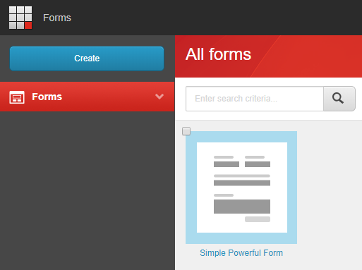 Sitecore 9 Forms: form doesn't show up after creation